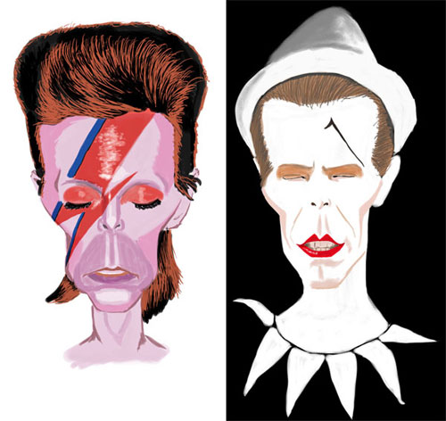 David Bowie - Aladdin Sane - Ashes to ashes