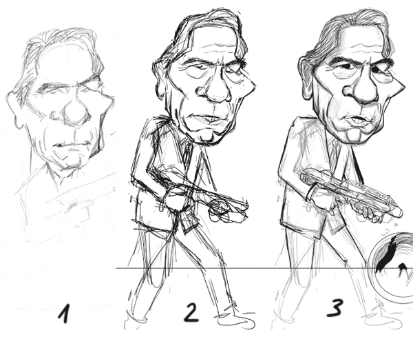 Tommy Lee jones WIP