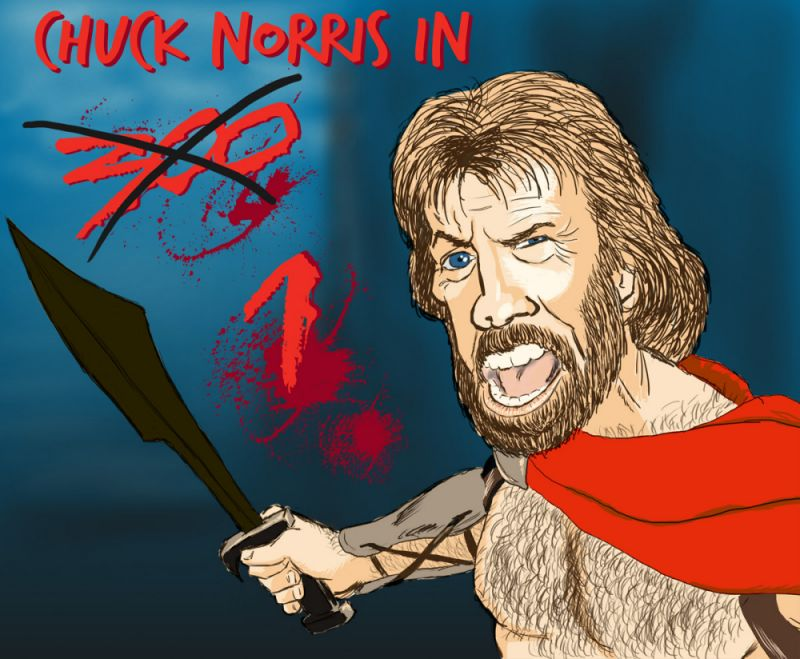 Chuck Norris 300