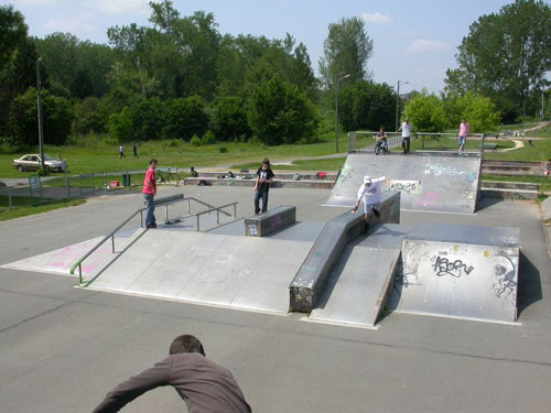 skatepark de Périgueux