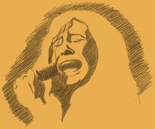 portrait Janis Joplin